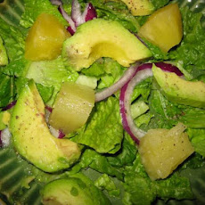 Avocado and Pineapple Salad - Ensalada De Aguacate Y Pina