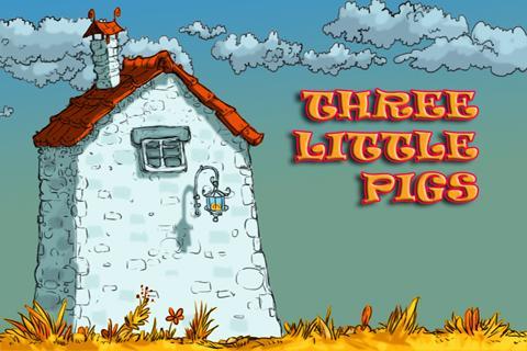 Three Little Pigs Kids Book