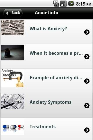 anxietinfo for android screenshot