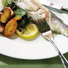 Fennel, Lemon And Dill Baked Sea Bass