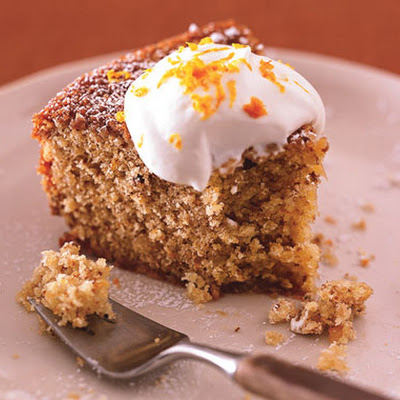 Walnut-Orange Cake