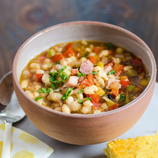 Carmen's White Bean & Maple Bacon Soup