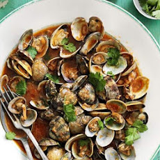Clams in Bloody Mary sauce