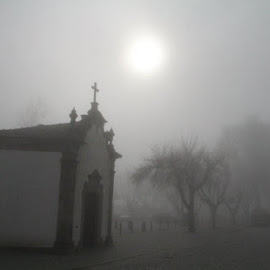 Foggy church by Antonio Barata - Buildings & Architecture Statues & Monuments (  )