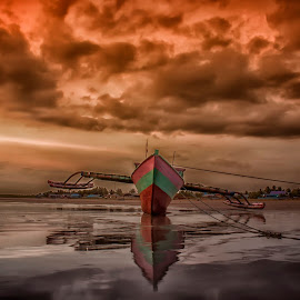 Fisherman Boat by Robby Pietersz - Landscapes Beaches