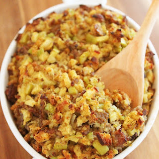 Best-Ever Sausage, Apple and Sage Stuffing