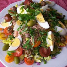 Authentic Nicoise Salad