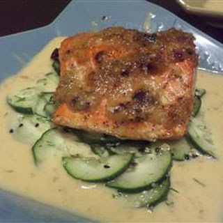Ginger-Scallion Crusted Salmon