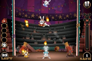 Screenshot of Stunt Bunnies Circus