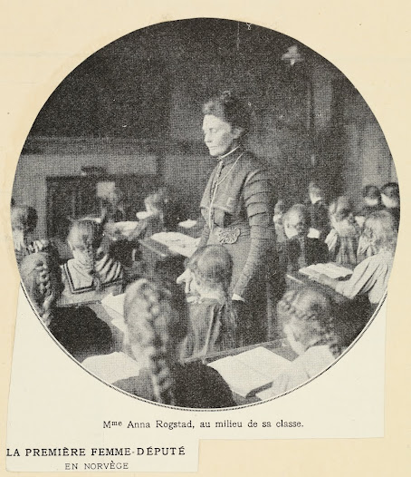 Anna Rogstad, Norway's first woman MP (1911)