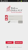 Screenshot of ALS Walk