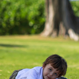 Island Boy by Rachelle Crockett - People Family ( child, surfer, cute, boy, kid )