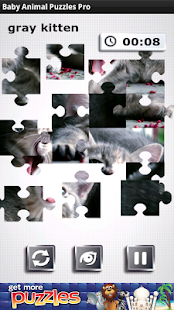 Baby Animal Puzzles Pro - screenshot
