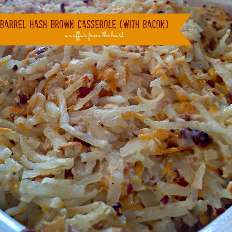 Copy Cat – Cracker Barrel Hash Brown Casserole (with BACON!)