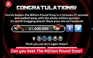 Screenshot of The Million Pound Drop