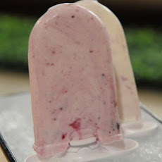 Blueberry Swirl Ice Pops