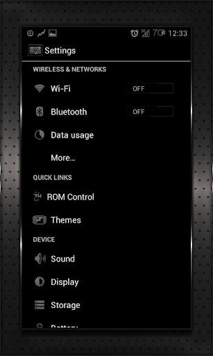 【免費個人化App】BLACK HEAVY cm10 cm9 aokp-APP點子