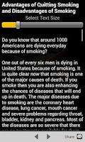 Screenshot of Quit Smoking Tips