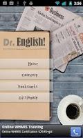 Screenshot of Dr. English!