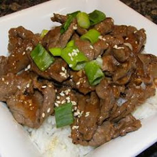 Korean Barbequed Beef