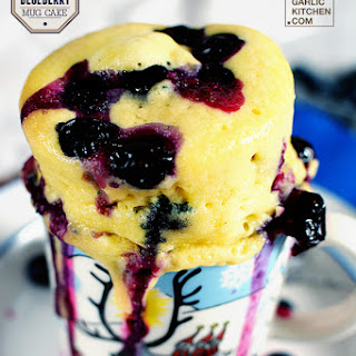 Effortless Blueberry Mug Cake [Recipe]