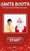 Screenshot of Santa Booth