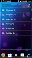 Screenshot of PhoneBook Widget Pack