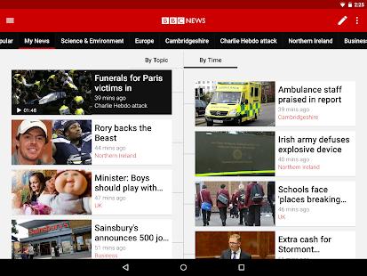 Free BBC News APK for Windows 8