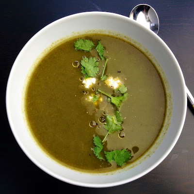 Watercress And Turnip Soup