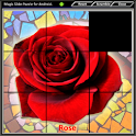 Magic Slide Puzzle Flowers1 icon