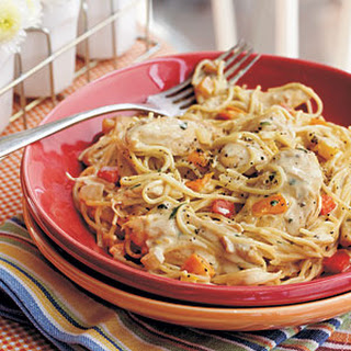 Chicken-Pepper Pasta