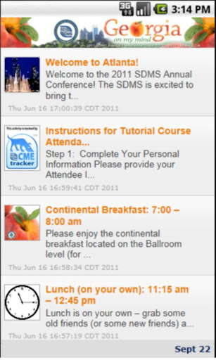 2011 SDMS Annual Conference