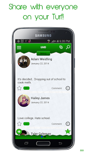 Turf (Social Network) - screenshot