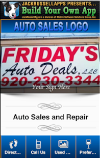 Fridays Auto Sales - screenshot