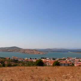 Ayvalik,Turkey by Snezana Petrovic - Landscapes Travel ( cunda, colorful, beautiful, ayvalik, sea, travel, landscape, lala, snezana petrovic, blue, horizontal, islands, view, turkey )