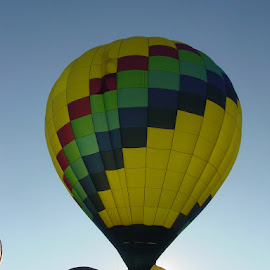Up Up & Away by T.m. Fairman - Transportation Other ( mountains, air, balloonfest, new mexico )