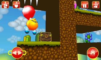 Screenshot of Bob Orange Platform Game