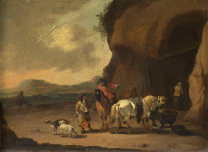 RIJKS: Pieter Bout: painting 1719