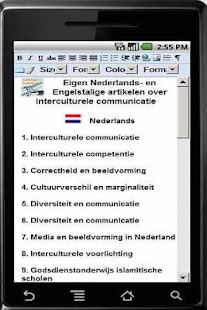 interculturele communicatie - screenshot