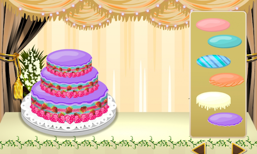 wedding cake maker - girl game - screenshot