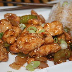 Spicy Cashew Chicken