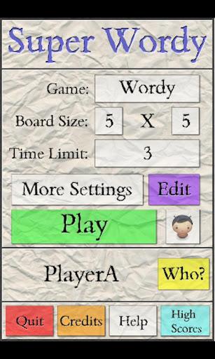 【免費解謎App】Super Wordy-APP點子