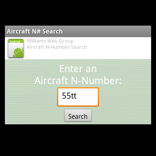 Aircraft N-Number Search LOGO-APP點子