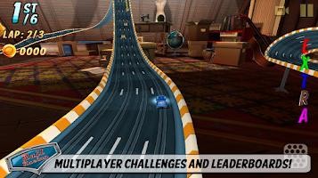 Screenshot of Rail Racing