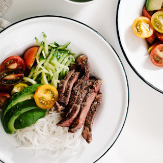 Vietnamese Steak and Vermicelli Bowl