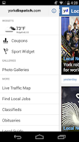 Screenshot of York Dispatch