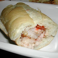 Shrimp Remoulade Po'boys