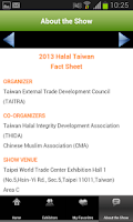 Screenshot of HALAL TAIWAN