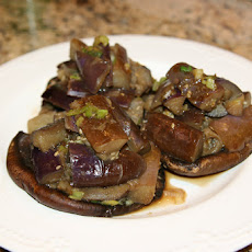 Portobello And Eggplant Stir-fry
