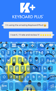 Emoji Galaxy Keyboard Theme - screenshot